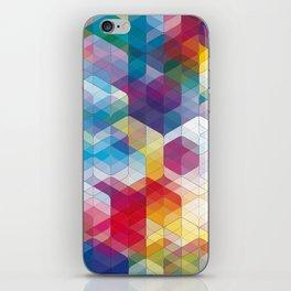 Cuben Curved #4 iPhone Skin