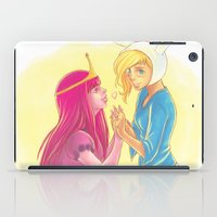 princess bubblegum iPad Cases featuring Fiona and Princess Bubblegum by Dani Taillefer