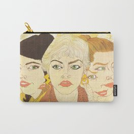 Withdrawing from Reality Carry-All Pouch