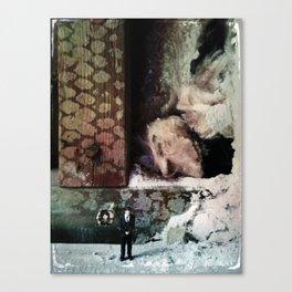 House Disaster Art - The Despair Canvas Print