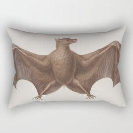 Vintage Bat Illustration (1835) Rectangular Pillow