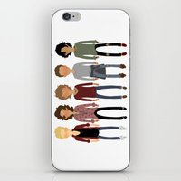 cargline iPhone & iPod Skins featuring Long Hair Simplistic  by cargline