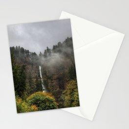 Multnomah Falls Oregon Stationery Cards