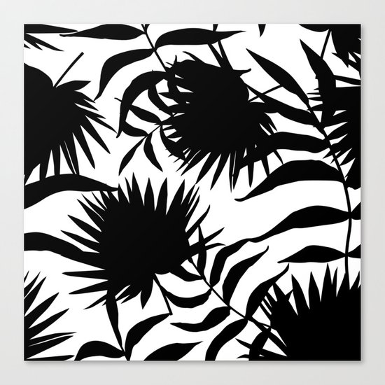 tropical pattern  Canvas Print