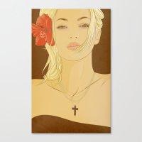 faith Canvas Prints featuring FAITH by MORPHEUS