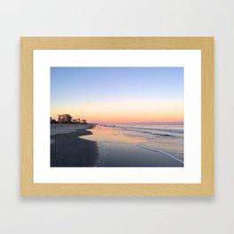 Beach Comber Framed Art Print