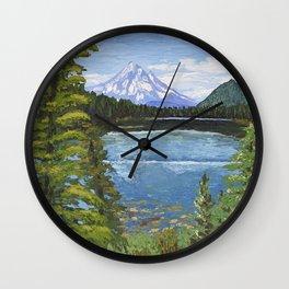 Lost Lake Wall Clock