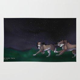 Sena and Patrick: Night sky Rug