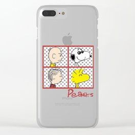 Snoopy Peanuts Album Color Clear iPhone Case