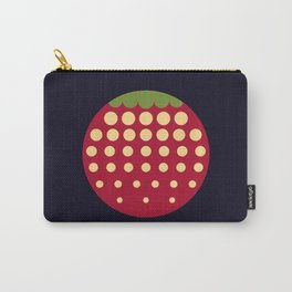 strawberry || russian black Carry-All Pouch