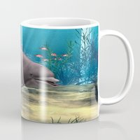 dolphin Mugs featuring Dolphin by Design Windmill