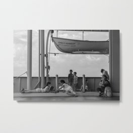 Simple Times NYC Metal Print
