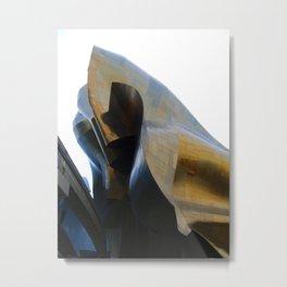 Fluid Architecture Metal Print