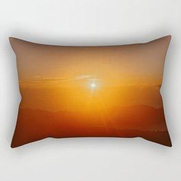 Colorful sunrise in Ubud, Bali Indonesia | Wanderlust fine art print photography | Sunset sky | land Rectangular Pillow