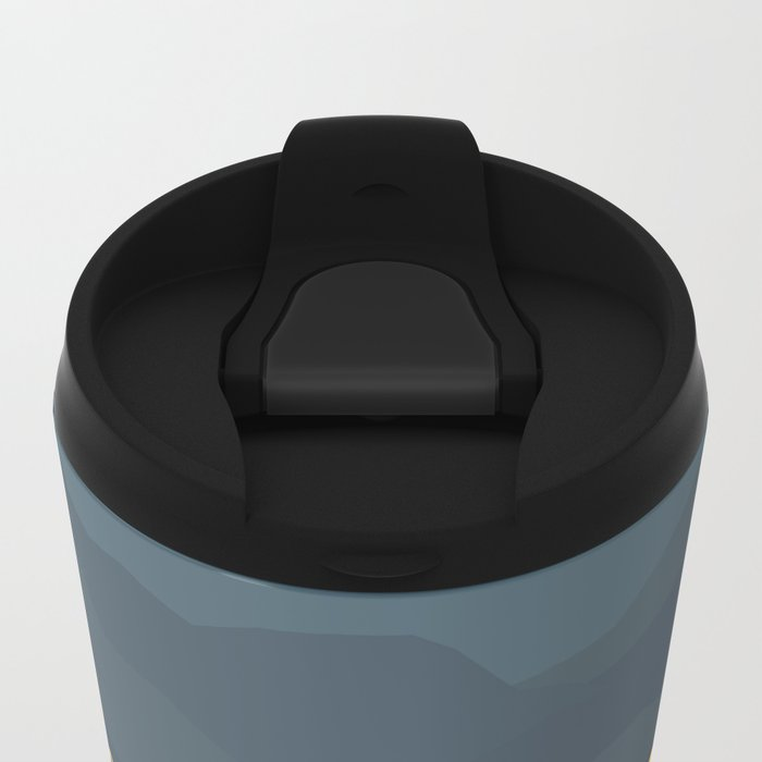 Evening lights Metal Travel Mug