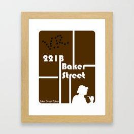 Baker Street Babes: 221B Baker Street Framed Art Print
