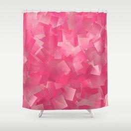 Pink Jello Shower Curtain