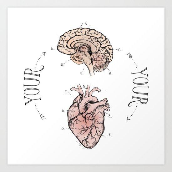 Anatomical Oracle Art Print