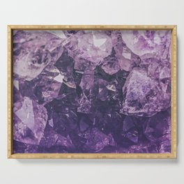 Amethyst Gem Dreams Serving Tray