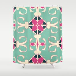 pink n' blue 11 Shower Curtain