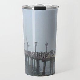 Fog over Malaga Travel Mug