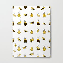 Whats The Buzz Metal Print