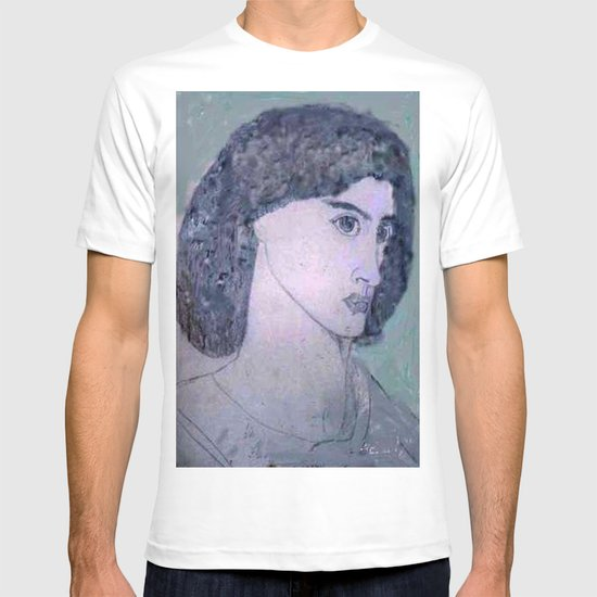 JANE BURDEN STUDY T-shirt