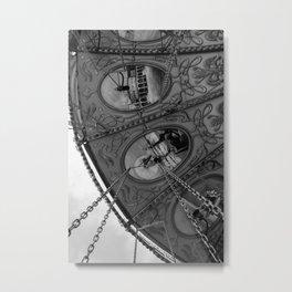 Swing Carousel IV Metal Print