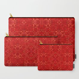 Red particles Carry-All Pouch