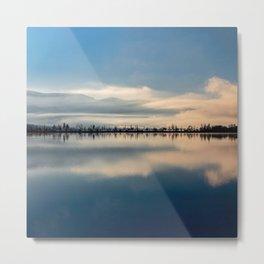 Sunrise over Osoyoos lake British Columbia Canada  Metal Print