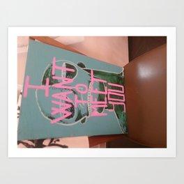 cloro Art Print