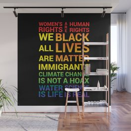 Women's Rights are Human Rights Wall Mural