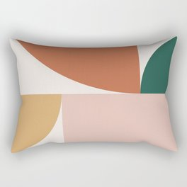 Abstract Geometric 13 Rectangular Pillow