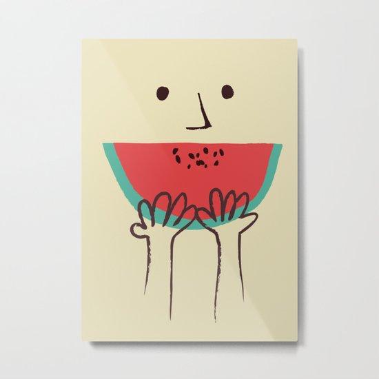 Summer smile Metal Print