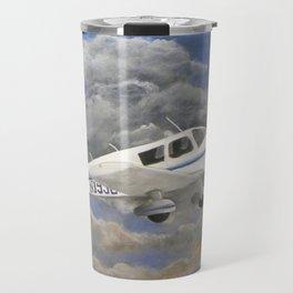 Soaring, Piper Cherokee Airplane Travel Mug