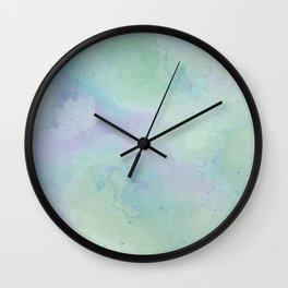 Lacuna Watercolour Sky Wall Clock
