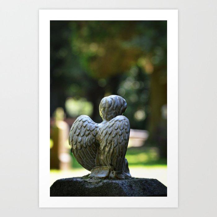 Help an Angel Art Print