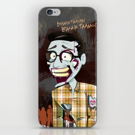 Hipster Zombie iPhone Skin