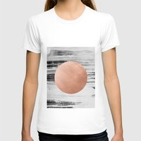 rose gold T-shirts featuring rose gold #1 by LEEMO