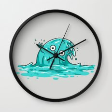 Waving Wall Clock