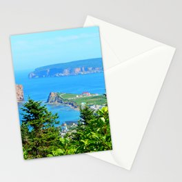 Perce From Dawn's Peak panoramic cut Stationery Cards