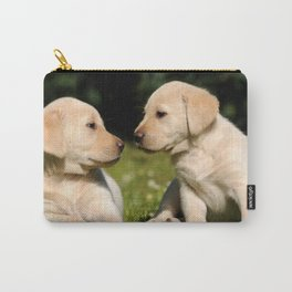 Puppy Brothers Always Together Carry-All Pouch