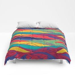 Color Wave Comforters