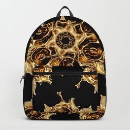 golden rosew pattern fill Backpack