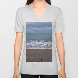Foam on the Beach Unisex V-Neck