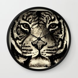 Tiger Ink Wall Clock