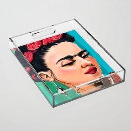 Frida Acrylic Tray