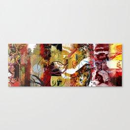 Exquisite Corpse: Round 5 Canvas Print