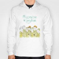 moonrise kingdom Hoodies featuring Moonrise Kingdom by Elly Liyana