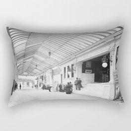 Crescent Tulane Theater Arcade 1906 Rectangular Pillow
